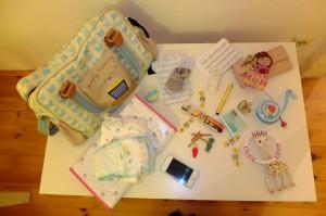 Le sac d'une jeune maman